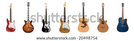 Seven different guitars for the price of one