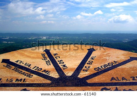 Seven States View - stock photo