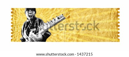 Seven string madness 2 - check my portfolio for another version of this image. - stock photo