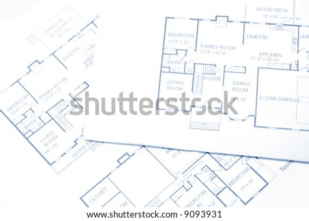 New Home Construction Plans image drawing house plan small square stock vector 75349132
