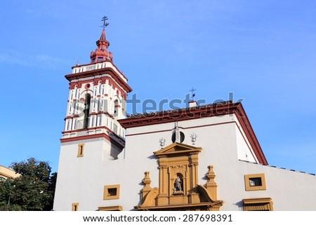 Seville, Spain - church of Saint Roch (Iglesia de San Roque). - stock photo