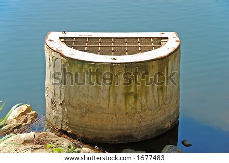 Sewer vent - stock photo