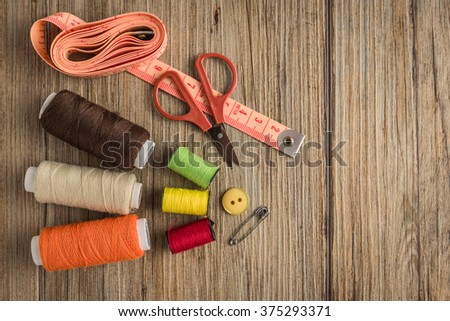 Sewing Equipment Stock Royalty Free & Vectors