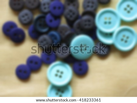 Sewing buttons, Plastic buttons, Colorful buttons on white background, Buttons close up , blurred 100%