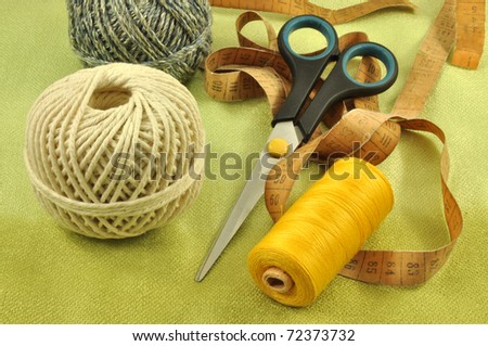 sewing items, tools