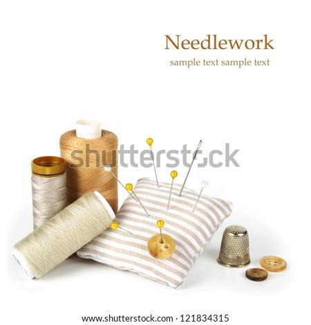 Sewing Kit - stock photo