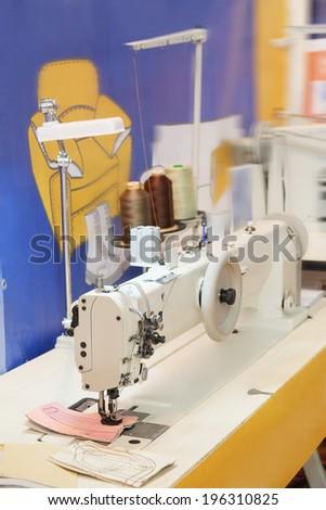 sewing-machine - stock photo
