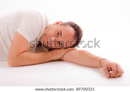sex young man - stock photo