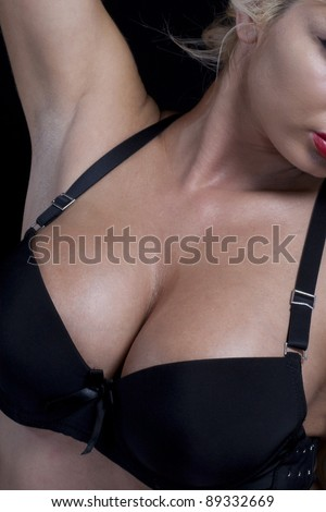 Sexual big tits in beautiful brassiere