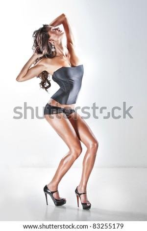 sexual female body - stock photo