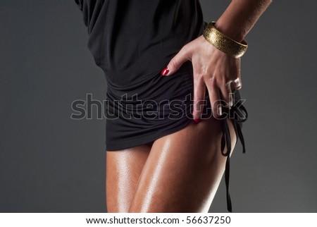 sexy body - stock photo