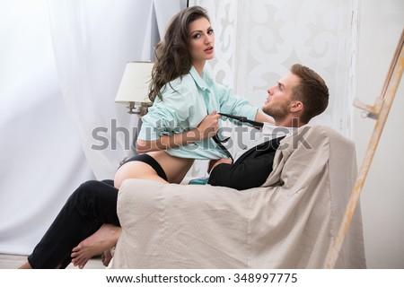 Female doctor seduces patient