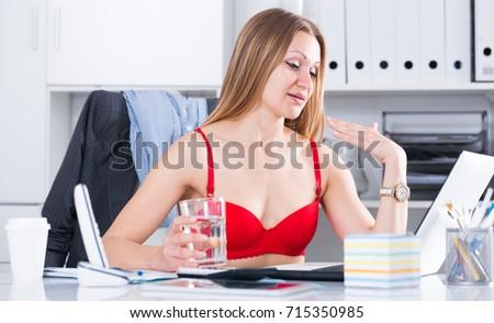 Office Flirt Stock Images RoyaltyFree Images Vectors