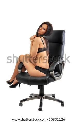 Think, hot girl sitting in chair consider