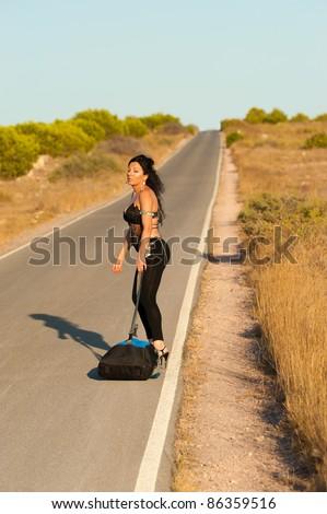 Hot girls hitch hicking — img 3