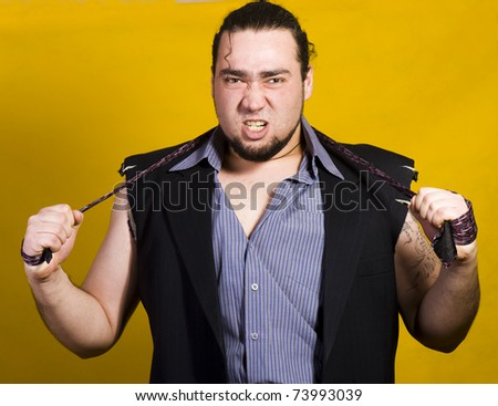 Sexy man - stock photo