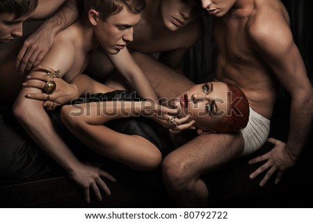 Sexy people - stock photo
