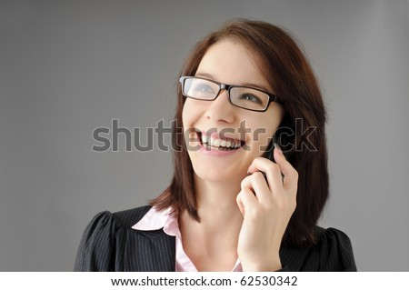 Sexy secretary - stock photo