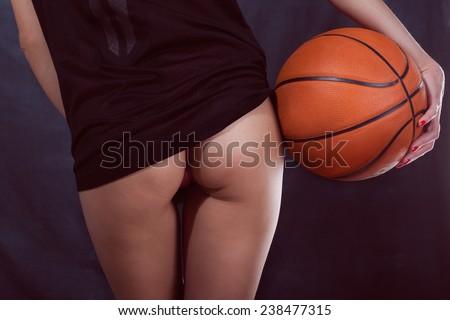 Basket Ball In Ass 22