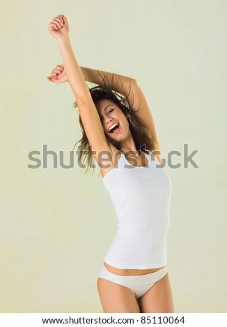 Sexy Woman Erotic Body - stock photo