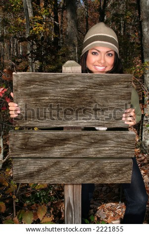 Sexy Woman In Fall fashion Outdoors Model to use in advertising. - stock photo