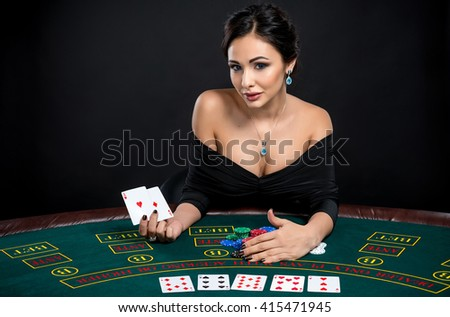 Sexy poker cards