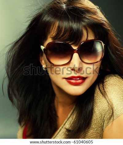 Sexy Young Woman portrait - stock photo