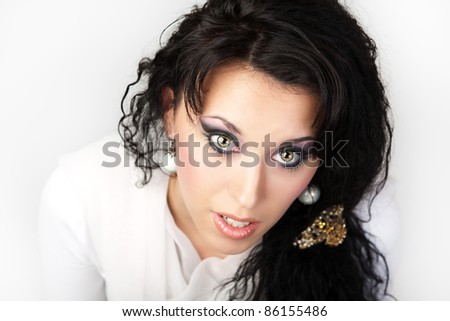 Sexy Young Woman portrait. - stock photo