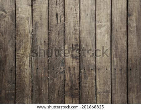 shabby brown Wood Background - stock photo