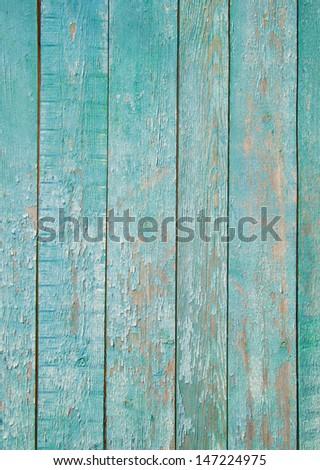 shabby mint Wood Background - stock photo