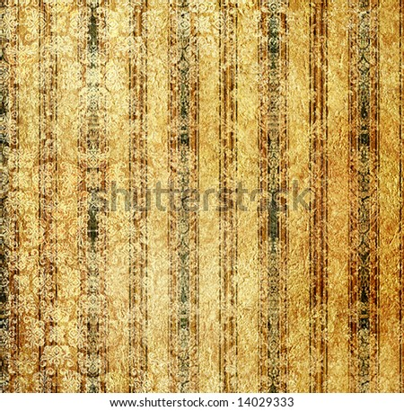 shabby striped bacground in golden coloers