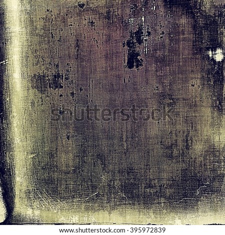 Shabby texture or background with classy vintage elements. Grunge backdrop with different color patterns: brown; purple (violet); gray; black - stock photo