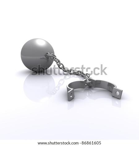 shackles - stock photo