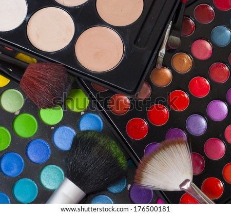 shade lipstick makeup brushes