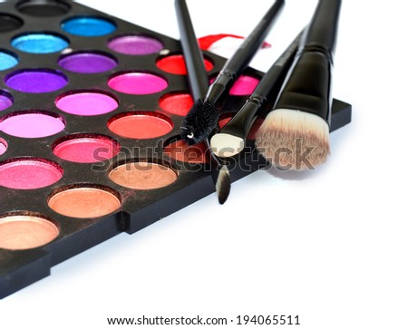 shadow cosmetic brushes