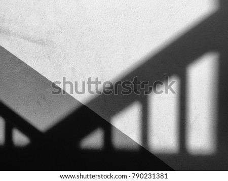 Shadow on the floor Background. Abstract picture.