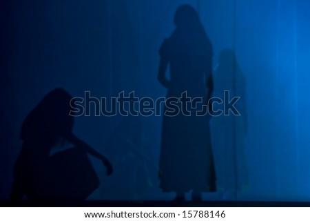 Shadows - stock photo