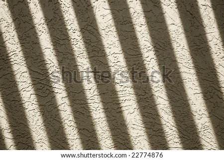 Shadows on a stucco wall for texture/background