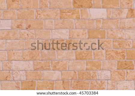 Shaggy ceramic surface - stock photo