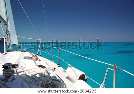 Shallow Seas - stock photo