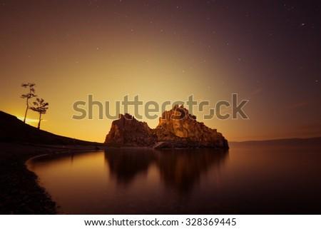 Shaman Rock - stock photo