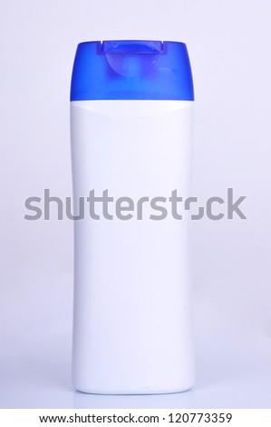 shampoo and cosmetics woman women - stock photo