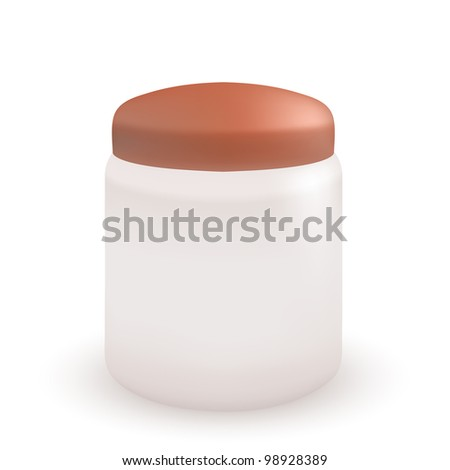 shampoo isolated on white background