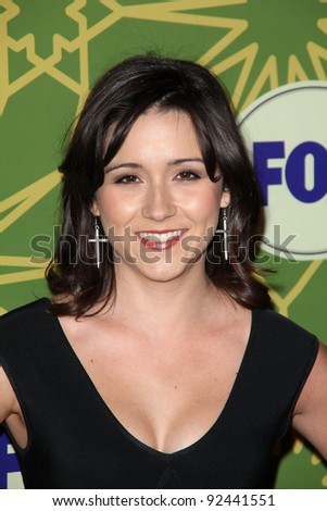 Shannon Woodward at the FOX All-Star Party, Castle Green, Pasadena, CA 01-08-12