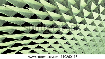 Shape Triangulation - stock photo