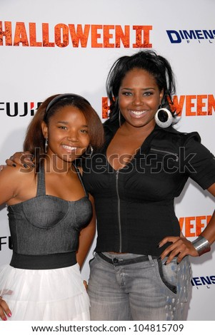 Shar Jackson and daughter Cassie  at the Los Angeles Premiere of 'Halloween II'. Grauman's Chinese Theatre, Hollywood, CA. 08-24-09