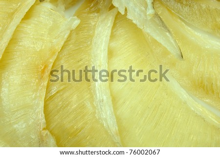 shark fin for Soup - stock photo