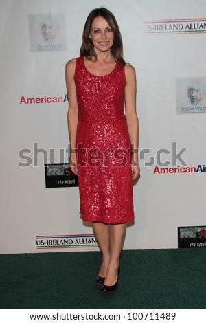 Sharon Corr at US Ireland Alliance Oscar Wilde Honors, Bad Robot, Santa Monica, CA 02-23-12 - stock photo