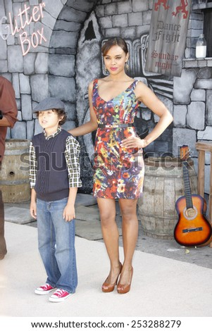 "Sharon Leal at the Los Angeles Premiere of ""Puss In Boots"" held at the Regency Village Theater in Westwood, California, United States on October 23, 2011."