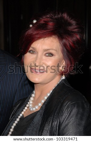 Sharon Osbourne at the Associates for Breast and Prostate Cancer 20th Anniversary Gala, Beverly Hilton Hotel, Beverly Hills, CA. 11-21-09 - stock photo